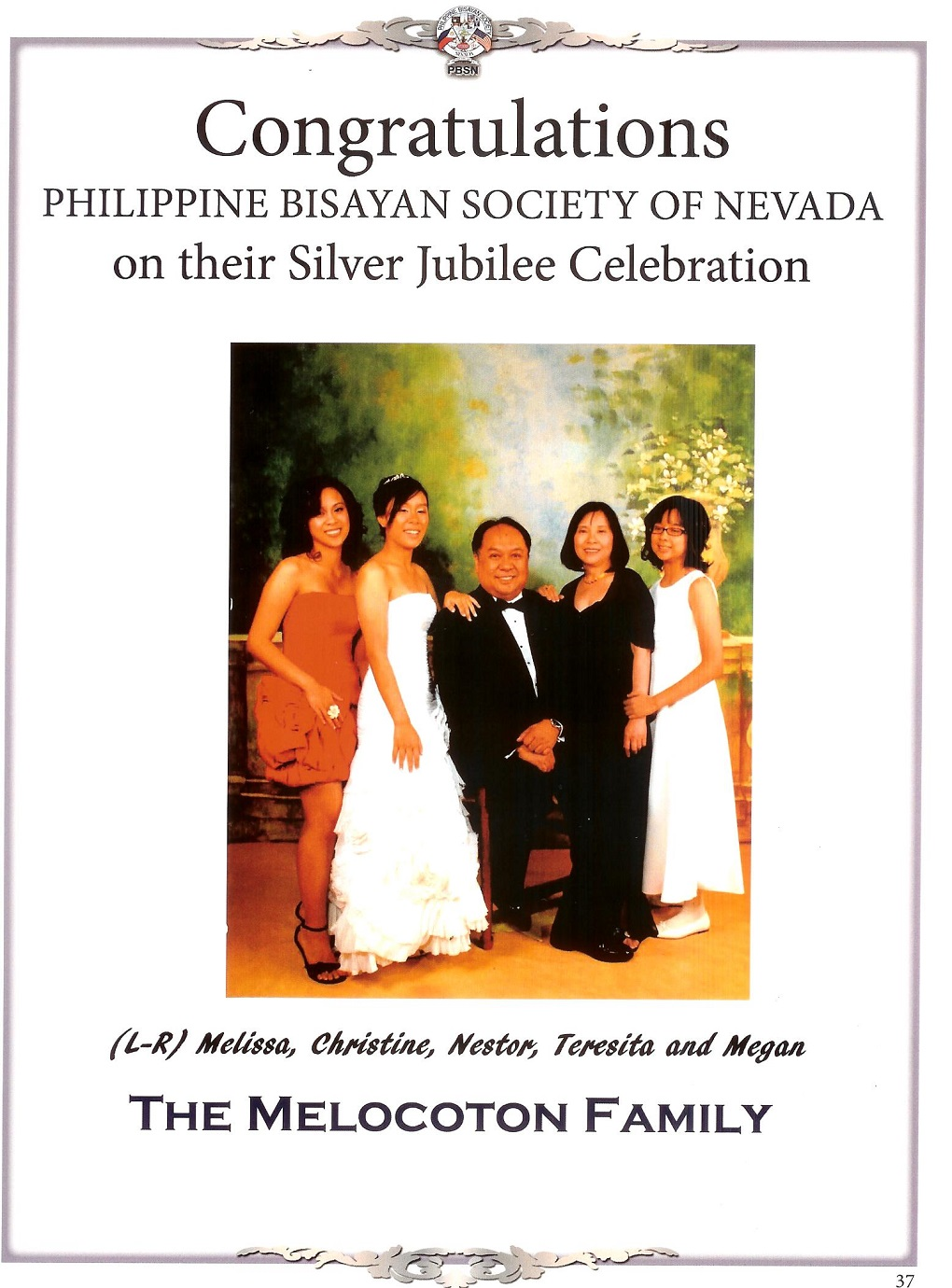dr. melocoton family greetings